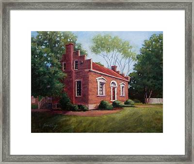 Carter House In Franklin Tennessee Framed Print by Janet King