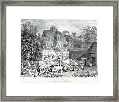 Carting Sugar Framed Print by British Library