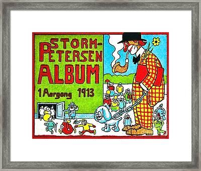 Cartoon 01 Framed Print by Svetlana Sewell