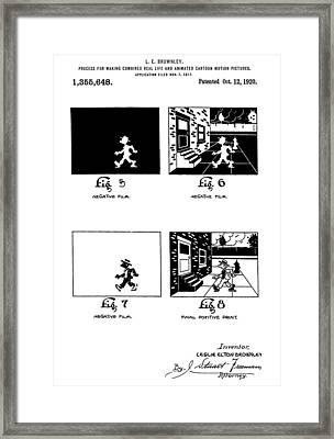Cartoons Framed Print by Dan Sproul