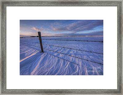 Carved By The Wind II Framed Print by Dan Jurak