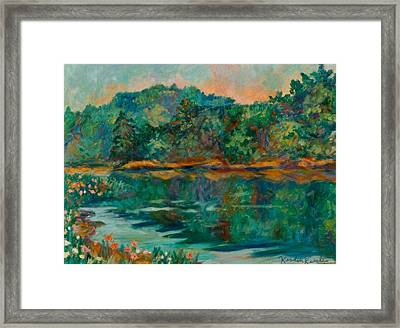 Carvins Cove Framed Print by Kendall Kessler