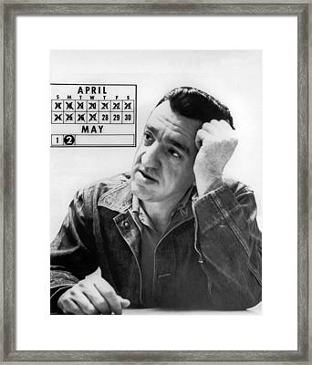 Caryl Chessman Framed Print by Underwood Archives