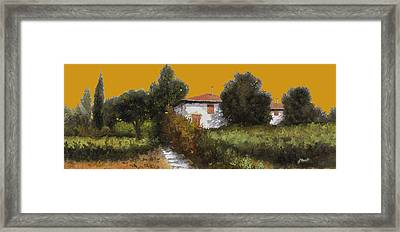 Casa Al Tramonto Framed Print by Guido Borelli