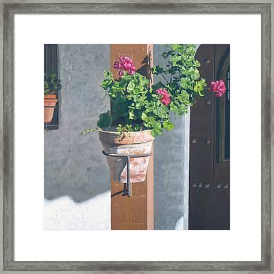 Casa Romantica Four Framed Print by Michael Ward