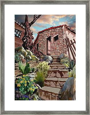 Casa Tijuana Framed Print by Ron Chambers