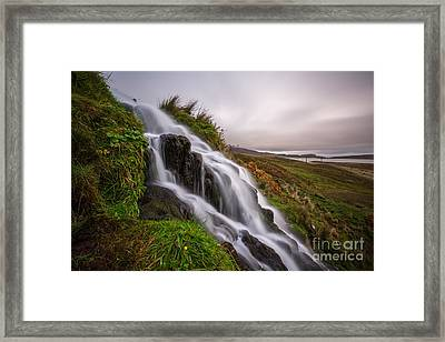 Cascade Framed Print by Matt  Trimble