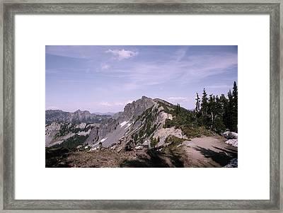 Cascades Near Sunrise Framed Print by Jeff Swan