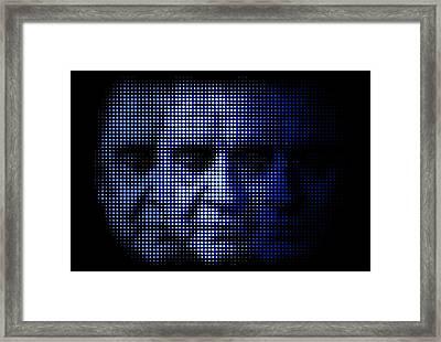 Cash - Cocaine Blues Framed Print by Bobby Zeik