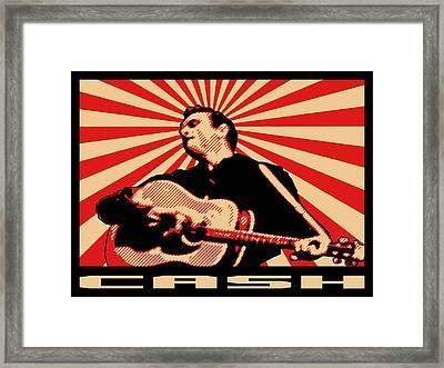 Cash Framed Print by Lance Vaughn