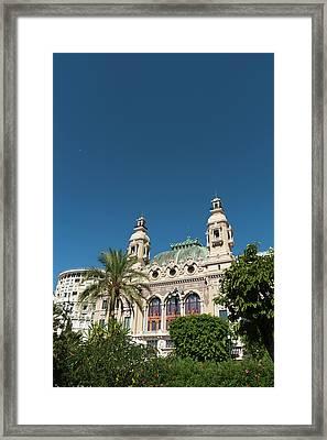 Casino, Monte Carlo, Principaute De Framed Print by Sergio Pitamitz