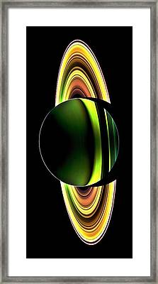 Cassini's Phone Framed Print by Benjamin Yeager