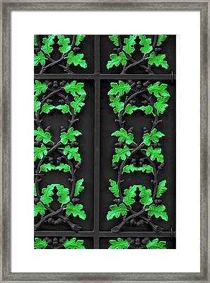 Cast Iron Gate New Orleans Framed Print by Christine Till