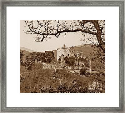 Castle Campbell Scotland Framed Print by The Keasbury-Gordon Photograph Archive