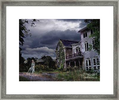 Castle House Framed Print by Tom Straub