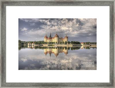Castle In The Air Framed Print by Heiko Koehrer-Wagner