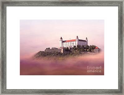 Castle In The Air II. - Bratislava Castle Framed Print by Martin Dzurjanik