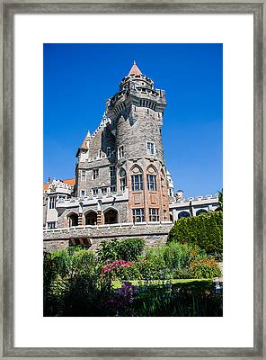 Castle In The City Framed Print by AMB Fine Art Photography