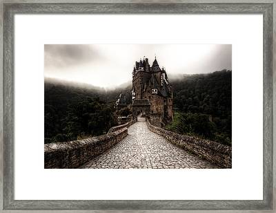 Castle In The Mist Framed Print by Ryan Wyckoff