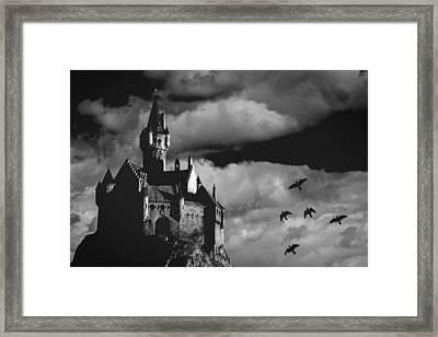 Castle In The Sky Framed Print by Bob Orsillo