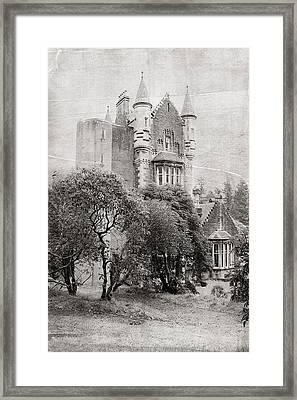 Castle Framed Print by Jenny Rainbow