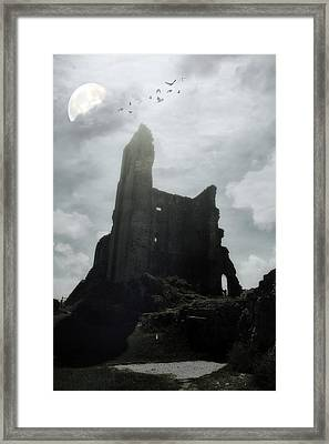 Castle Ruin Framed Print by Joana Kruse