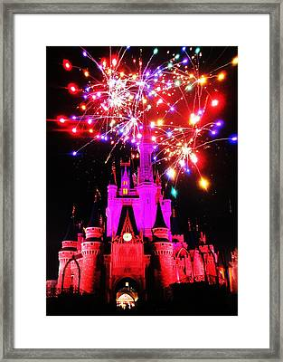 Castle Show Framed Print by Benjamin Yeager