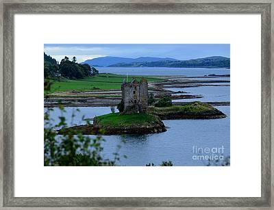 Castle Stalker  Framed Print by DejaVu Designs