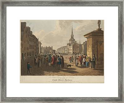 Castle Street Framed Print by British Library