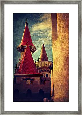 Castle Towers  Framed Print by Maria Angelica Maira