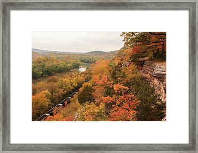Castlewood State Park Framed Print by Scott Rackers