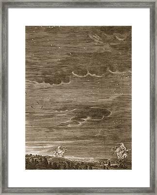 Castor And Pollux, 1731 Framed Print by Bernard Picart