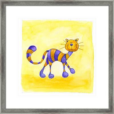 Cat 1 Framed Print by Esteban Studio