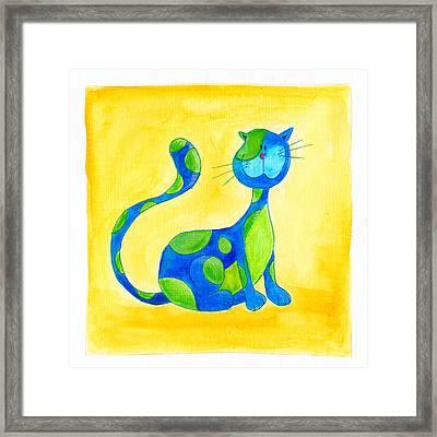 Cat 3 Framed Print by Esteban Studio