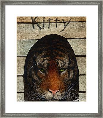Cat House... Framed Print by Will Bullas