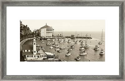 Catalina Island. Avalon Framed Print by Ben and Raisa Gertsberg