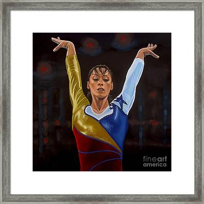 Catalina Ponor Framed Print by Paul Meijering