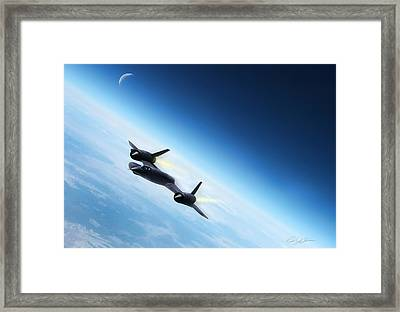 Catch Me If You Can  Framed Print by Peter Chilelli