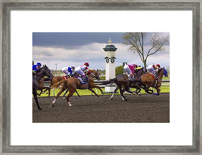 Catch Me Framed Print by Jack R Perry
