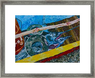 Catch Of The Day 3 Framed Print by Carol Mallillin-Tsiatsios