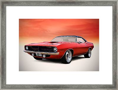 Catch Of The Day Framed Print by Douglas Pittman