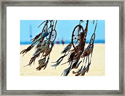 Catch The Dream Framed Print by Camille Lopez
