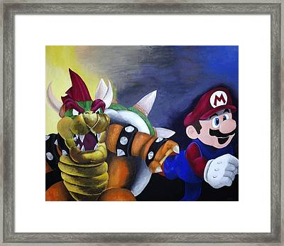 Catch The Plumber Framed Print by Jamie Blackbourn