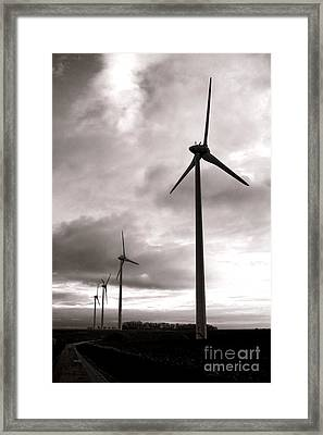 Catch The Wind Framed Print by Olivier Le Queinec