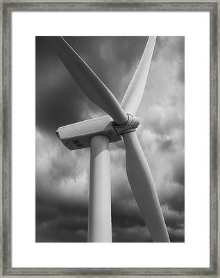 Catching A Breeze Framed Print by Jack Zulli