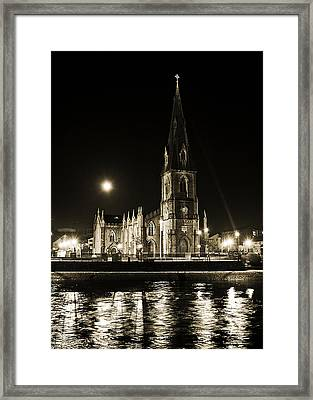 Cathedral At Nine Fifteen Framed Print by Tony Reddington