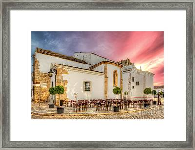 Cathedral Cafe Framed Print by English Landscapes