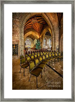 Cathedral Christmas Framed Print by Adrian Evans
