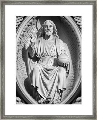 Cathedral Man Framed Print by Mike McGlothlen