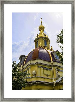 Cathedral Of Saints Peter And Paul Framed Print by Jon Berghoff
